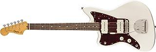 Squier by Fender Classic Vibe 60's Jazzmaster - Guitarra eléctrica para zurdos, color blanco