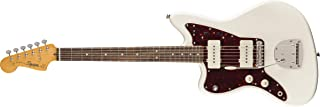 Squier by Fender Classic Vibe 60's Jazzmaster Left-Handed Electric Guitar - Laurel - Olympic White