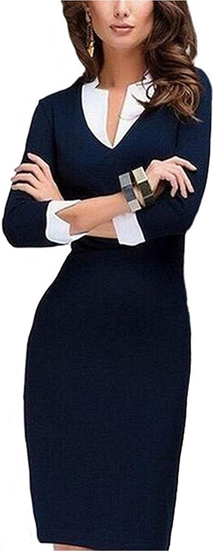 Robert Reyna Fashion Women's Fashion Slim Pencil SkirBodycon Wear to Work Cocktail Party