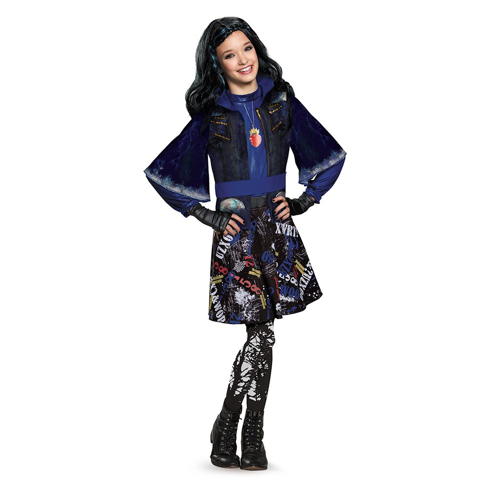 Disguise 88116L Evie Isle Of The Lost Deluxe Costume, Small (4-6x ...