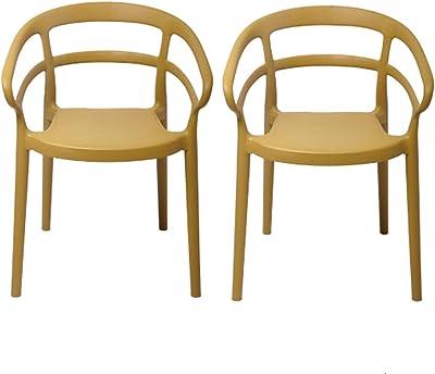 Nordic Leisure Backrest Dining Chair Modern Minimalist Stackable Armchair Cafe Milk Tea Chair,B