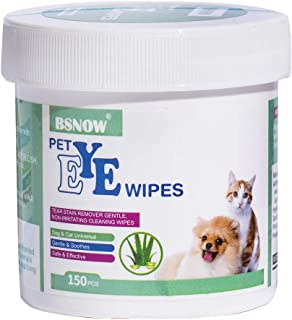Sponsored Ad - N/J 130+130 Cotton Pads Pet Ear and Eye Pet Wipes for Dogs and Cats,Non-Toxic, All-Natural Grooming Wipes, ...