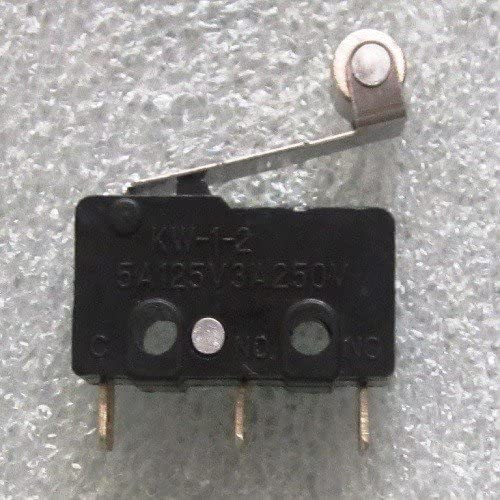 Aarya 3D 4 Pieces - Micro Limit Switch with Roller for Cnc Printer Reprap Prusa