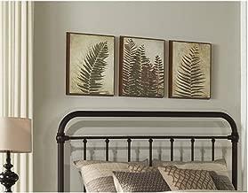 Hillsdale Furniture Kirkland Headboard - Full/Queen - Headboard Frame Not Included - Bronze