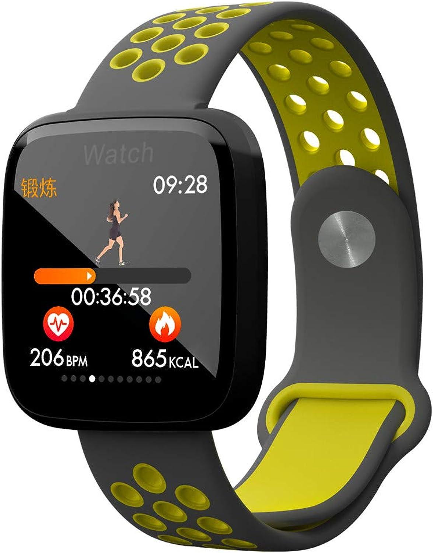 YOZOOE Bracelet Smart Watch, F15 blueetooth Heart Rate Blood Pressure Oxygen Smart Watch, Monitor IP67 Waterproof Rubber Tracker Unisex Watch