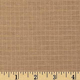 Organic Cotton Ripstop Khaki, Fabric by the Yard