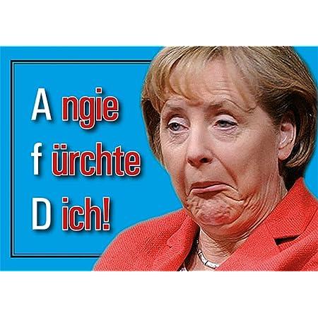 Aufkleber Sticker Angie Fürchte Dich Merkel Muß Weg Din A6 10er Set Gauck Sticker Demo Protest Deutschland Neuwahlen Rücktritt Widerstand Regierung Lügt Auto