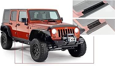 Bushwacker 14012 Jeep Trail Armor Rocker Panel & Sill Plate Combo Pair