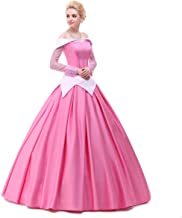 Angelaicos Womens Deluxe Princess Costumes Satin Lolita Dress Cloak Petticoat