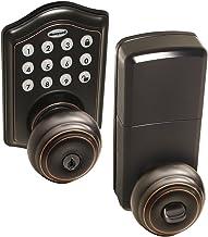 Honeywell Safes & Door Locks - 8732401 Maçaneta de entrada eletrônica, bronze polido a óleo