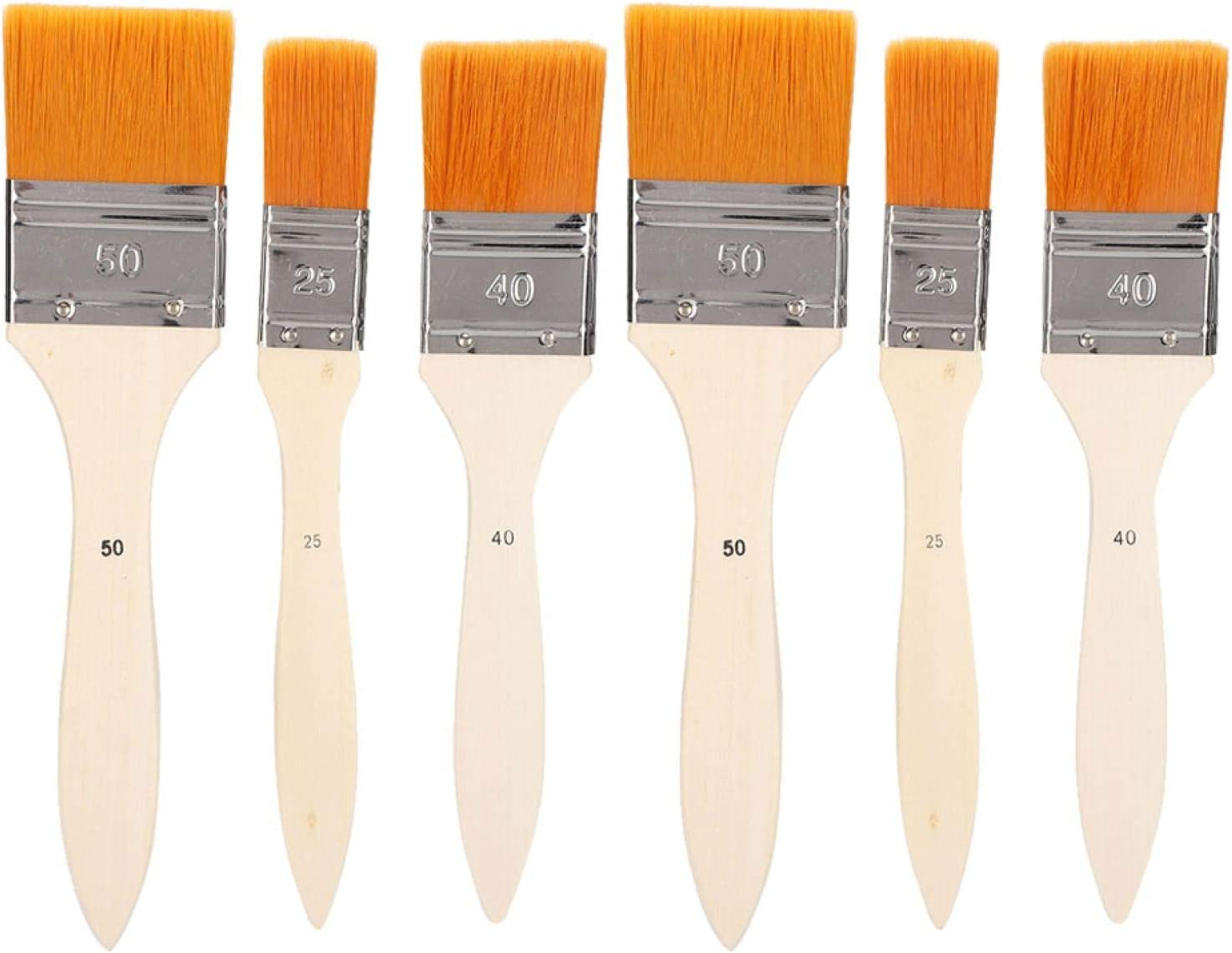 QiaNgshuAikj 6PCs Oil Painting Brush H Special sale Spasm price item Many with Paintbrush Set