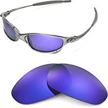 Walleva Replacement Lenses for Oakley Juliet Sunglasses - 14 Options Available