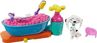 Disney 101 Dalmatian Street Baño de burbujas con figura Dolly y accesorios juguete niños +5 años (Mattel GBM47)