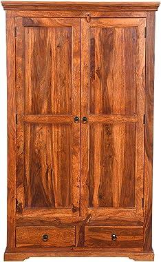 Sheesham Wood Wardrobe Cabinet