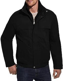 Weatherproof Men's Lightweight Water Resistant Zip Bomber Jacket Coat