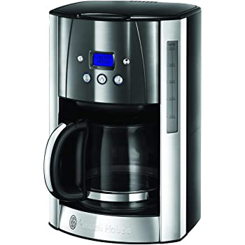 Russell Hobbs Fast Brew Cafetera, Temporizador Programable, 1200 W ...