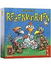 999 Games - Regenwormen Dobbelspel - Basisspel vanaf 8 jaar - Een van de beste spellen van 2006 - Reiner Knizia - Push your luck - voor 2 tot 7 spelers - 999-RGW01