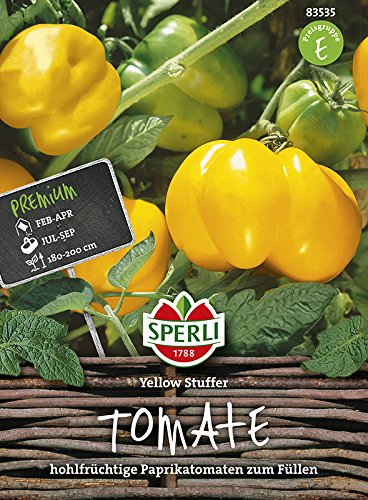 Sperli Tomate Yellow Stuffer