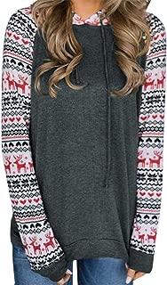 Women Girls Hooded Sweatshirt, Casual Printing Hoodies Tops Blouse ANJUNIE Back to School