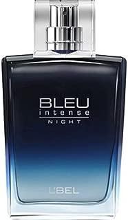 L'bel BLEU Intense NIGHT for Men Eau de Toilette Atomiseur by L'BEL PARIS 3.4 Oz (3.4 Oz)