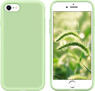 YINLAI iPhone SE 2020 Case, iPhone 8 Case iPhone 7 Case Slim Liquid Silicone Non Slip Shockproof Hybrid Hard Back Cover So...
