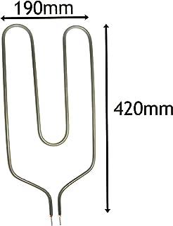 Spares2go elemento calefactor para Creda Noche Calentadores De Almacenamiento (850W, largo Pin)
