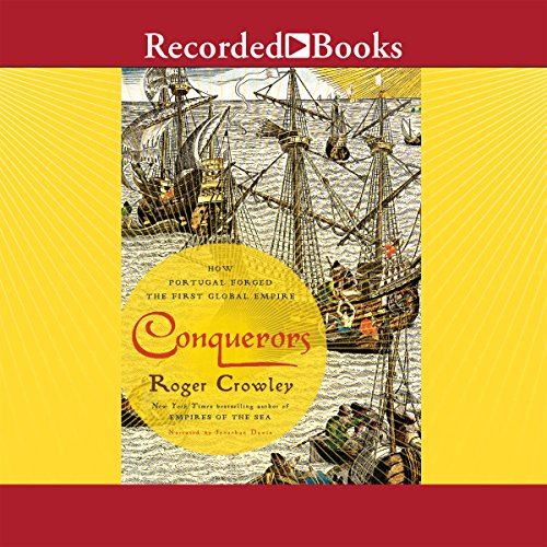 Conquerors audiobook cover art