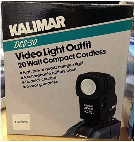 discount VIDEO CAMCORDER LIGHT OUTFIT - BY KALIMAR - NEW! DCS-30 High wholesale Power Halogen outlet sale Light online