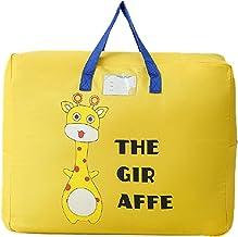 jiangye Składana torba z tkaniny Oxford, grubsza walizka, duża torba podróżna, bagaż do przechowywania ubrań, organizer do...