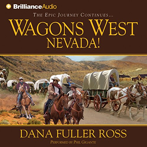 Wagons West Nevada! audiobook cover art