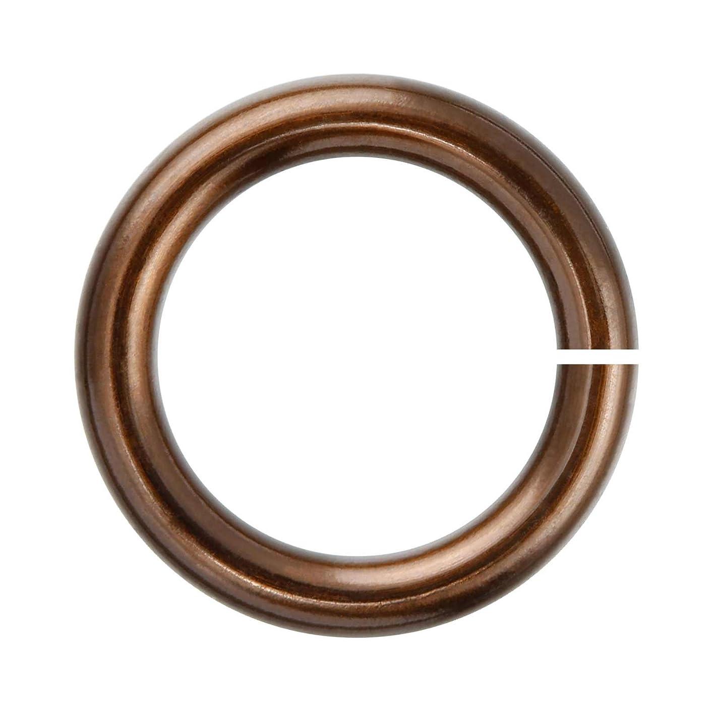 18-Gauge 3mm Smokey Quartz Enameled Copper Jump Rings - 1 ounce