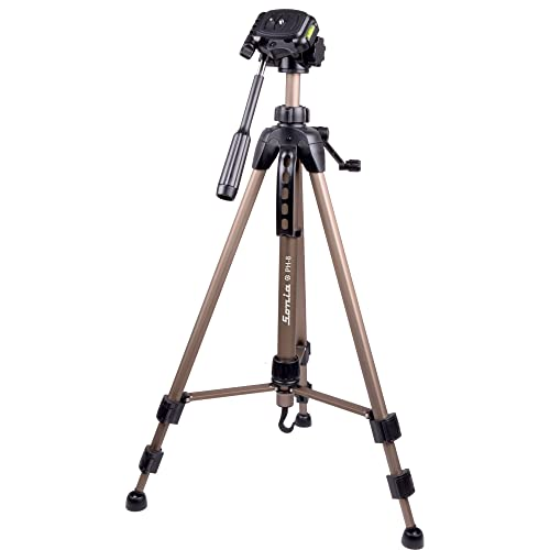 Sonia PH 8 Tripod with Bag for Digital SLR & Video Cameras (Load Capacity 4000 Grams)