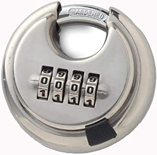 Disc Padlock Combination Lock for Warehouse, Sheds, Storage Locker, Units
