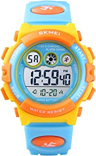 Kids Digital Sport Watch, Waterproof Electronic...