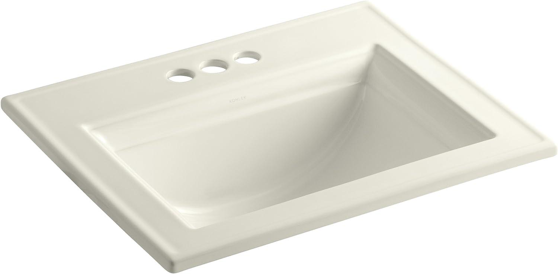 Kohler 2337-4-96 Elegant Ceramic Drop-In Bathroom Rectangular Super special price Sink 27.3