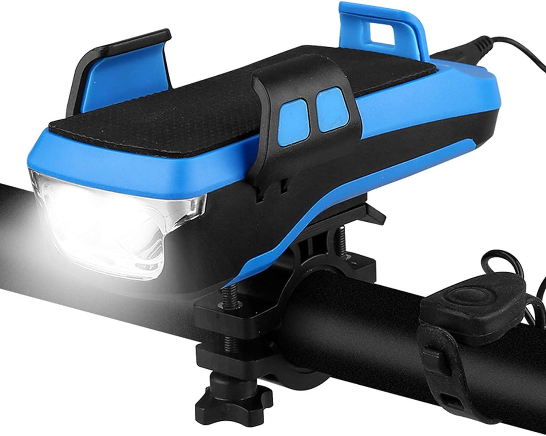 4 in 1 Bicycle Light Waterproof Holder Mobile Headli NEW Arlington Mall Bike Phone