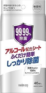 MANDOM(マンダム) 除菌ウェットシート 無香料 46枚入