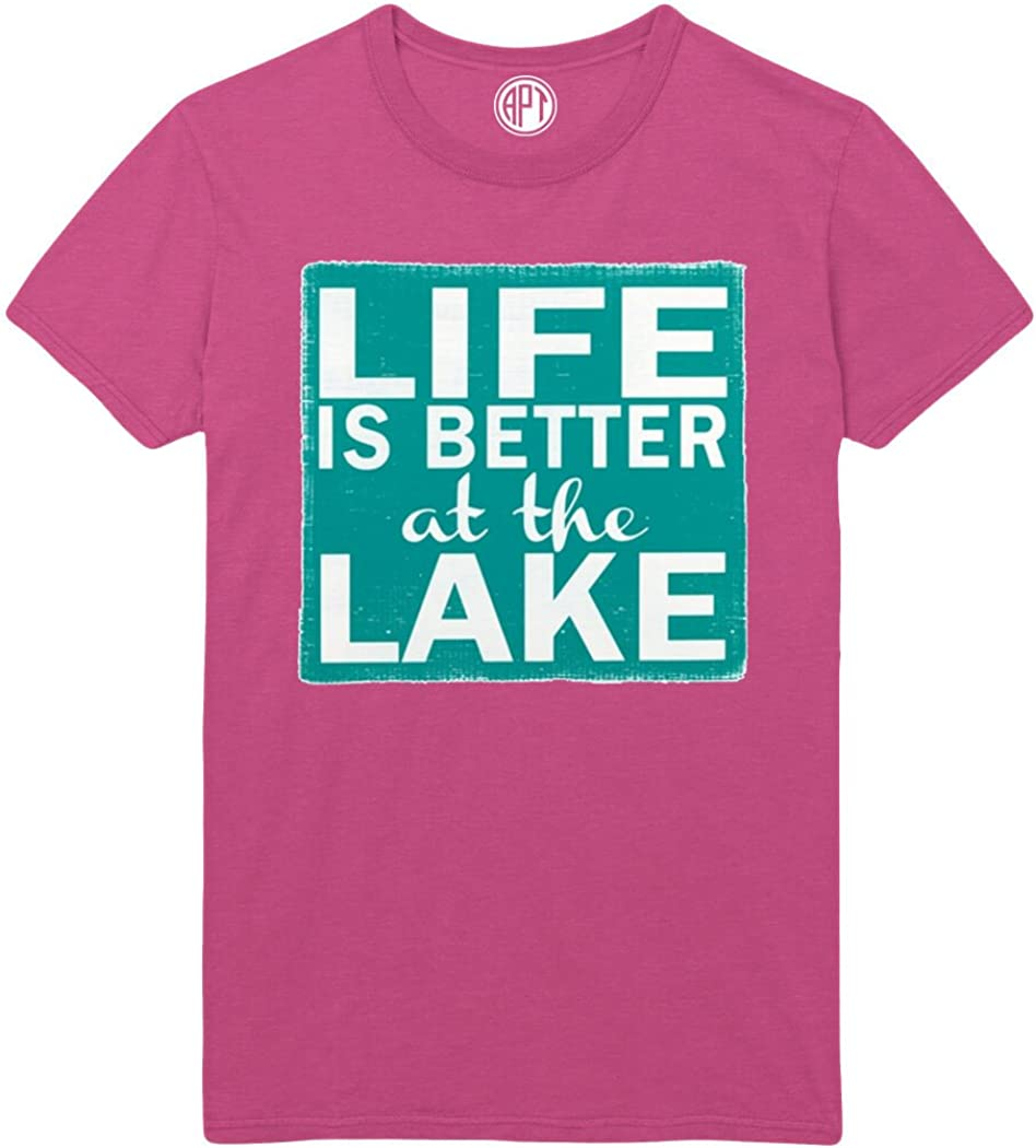 Life is Better at The Lake Printed T-Shirt