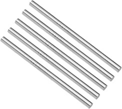 uxcell Round Steel Rod, 5.5mm HSS Lathe Bar Stock Tool 100mm Long, for Shaft Gear Drill..