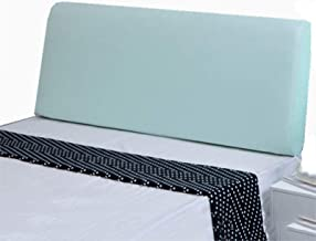 Bed Head Cover Healthy Comfortable Stretch Headboard Slipcover Leather Green Single