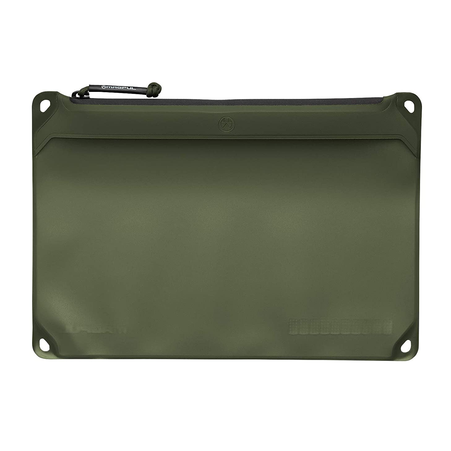 Magpul DAKA Window Pouch Zippered Tactical Range Tool and Gear Bag, Olive Drab Green, Large