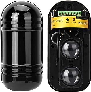 Rilevatori di movimento, Rilevatore a infrarossi di sicurezza 100m Rilevatore attivo barriera invisibile fotoelettrico att...