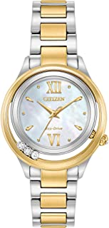 Citizen EM0514-52D Two-Tone Stainless Steel Women's Watch