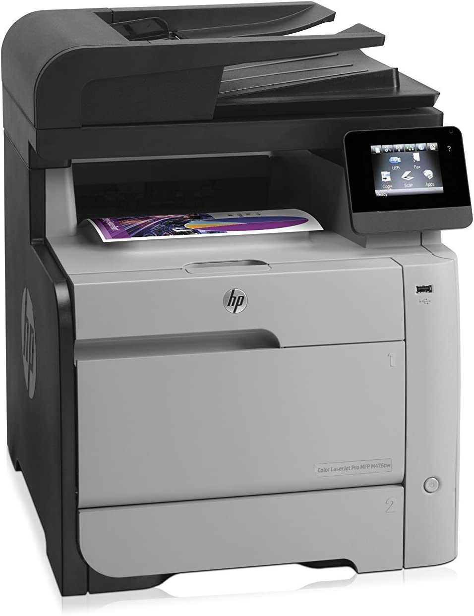 HP Laserjet Pro M476nw Wireless All-in-One Color Printer, Amazon Dash Replenishment Ready (Discontinued by Manufacturer)