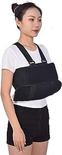 WYYZSS Inmovilizador Hombro Cabestrillo Soporte Manguito Y Codo Rotador Ajustable para Huesos Rotos Fracturados Dislocació...