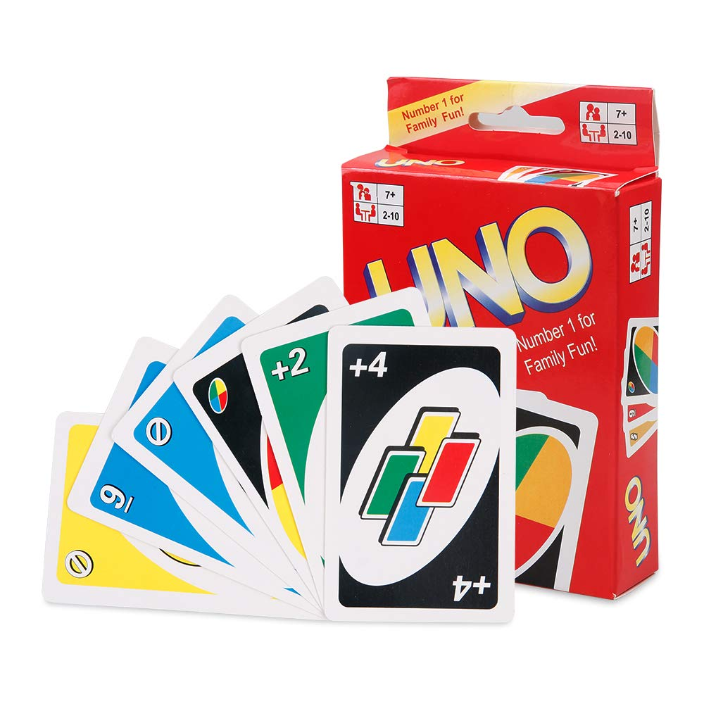 Infinitoo Uno Card Games Family Game For 2 6 Players Buy Online In Guatemala At Guatemala Desertcart Com Productid 205813413
