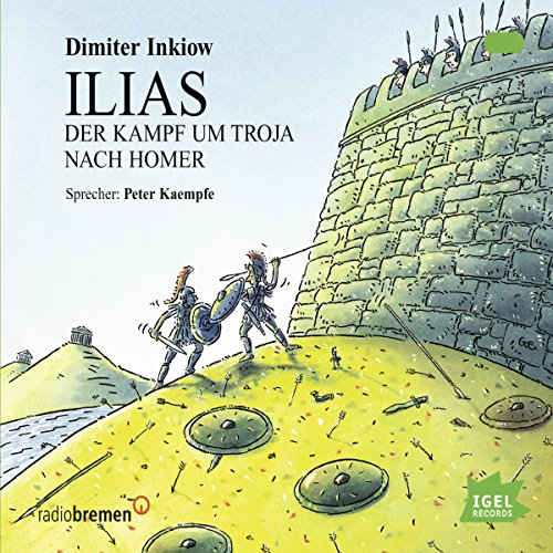Ilias audiobook cover art