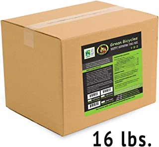 Happy Endings Compost Tea Mix (16 lbs) Concentrated All Purpose Organic Plant Fertilizer - Indoor and Outdoor Plant Food
