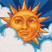 """Dimensions Needlecrafts Counted Cross Stitch 5"""" X 5"""""""
