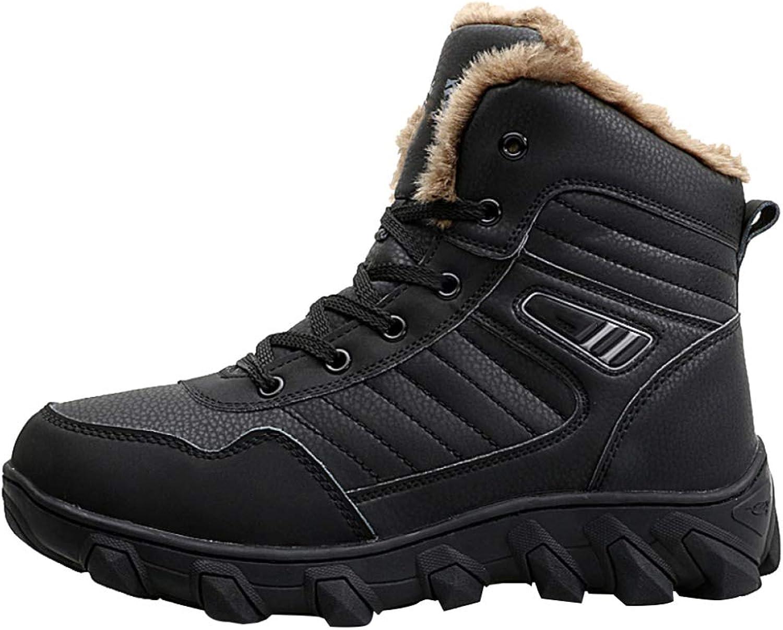 Herren Winterstiefel Snow Stiefel Mid-Rohr Schuhe Verdicken Warm Outdoor Rutschfeste Wasserdichte Mnner Arbeit Utility Footwear